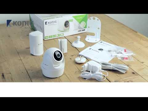 Konig Smart IP Camera Set 1080P SAS-SETIPC011W installation