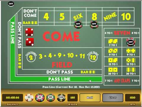 Best Bets In Craps Strategy