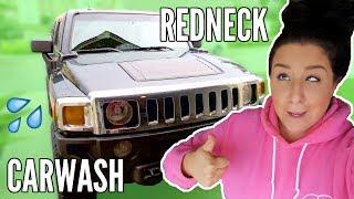 REDNECK CAR WASH DIY!! 🚗💦😂