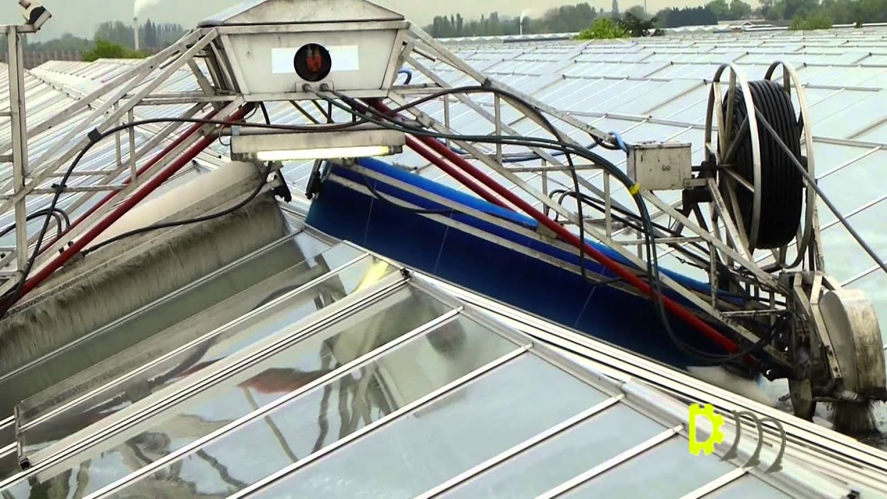 Besseling Greenhouse Cleaning System Kasdekreiniger Youtube