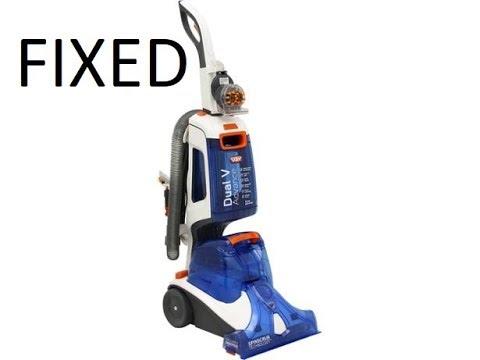 Vax advance repair - not dispensing detergent