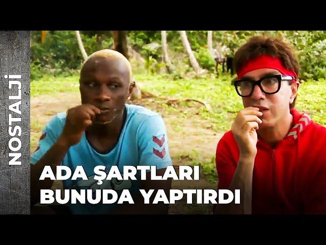 YATTARA'DAN AFRİKA USULÜ TAKTİK | SURVİVOR NOSTALJİ