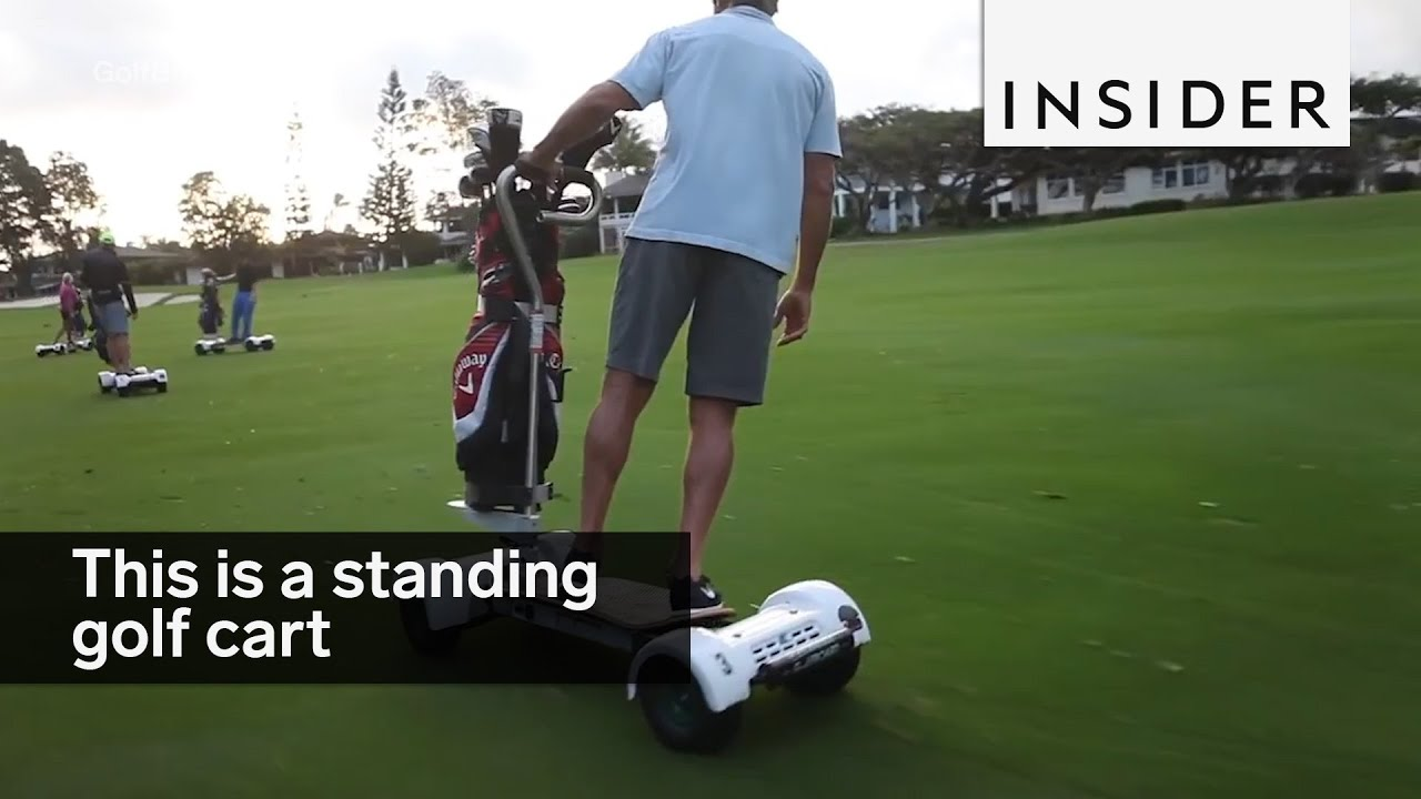 This standing golf cart makes golf way more exciting - YouTube on golf cart sail, golf cart shark, golf cart fitness, golf cart dog, golf cart school, golf cart slide, golf cart running, golf cart beach, golf cart sports, golf cart fishing, golf cart snow, golf cart boots, golf cart board, golf cart moto, golf cart hockey, golf cart football, golf cart surf, golf cart baseball, golf cart fish, golf cart out run,