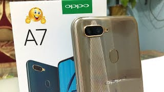 Sony Xperia - Oppo A7 Unboxing And Camera Test II सस्ता और अच्छा  ✅📸🔥