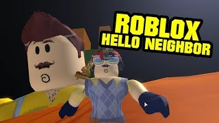ROBLOX HELLO NEIGHBOR SPEED RUN EDITION