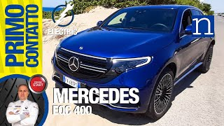 Mercedes EQC 400 4Matic Suv electric 300 kW, 80 kWh, 700 Nm! Test ricarica fast auto elettrica