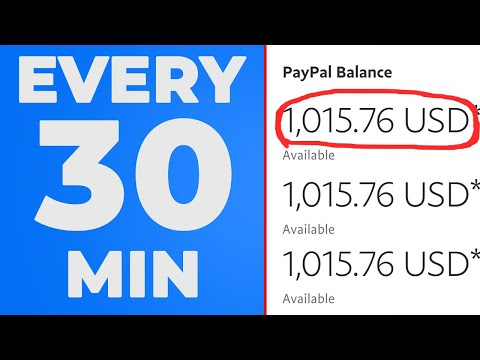 Make $1000 Per 20 Min FREE PayPal Money (Make Money Online)