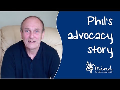 Mental health advocacy: Phil and Tom