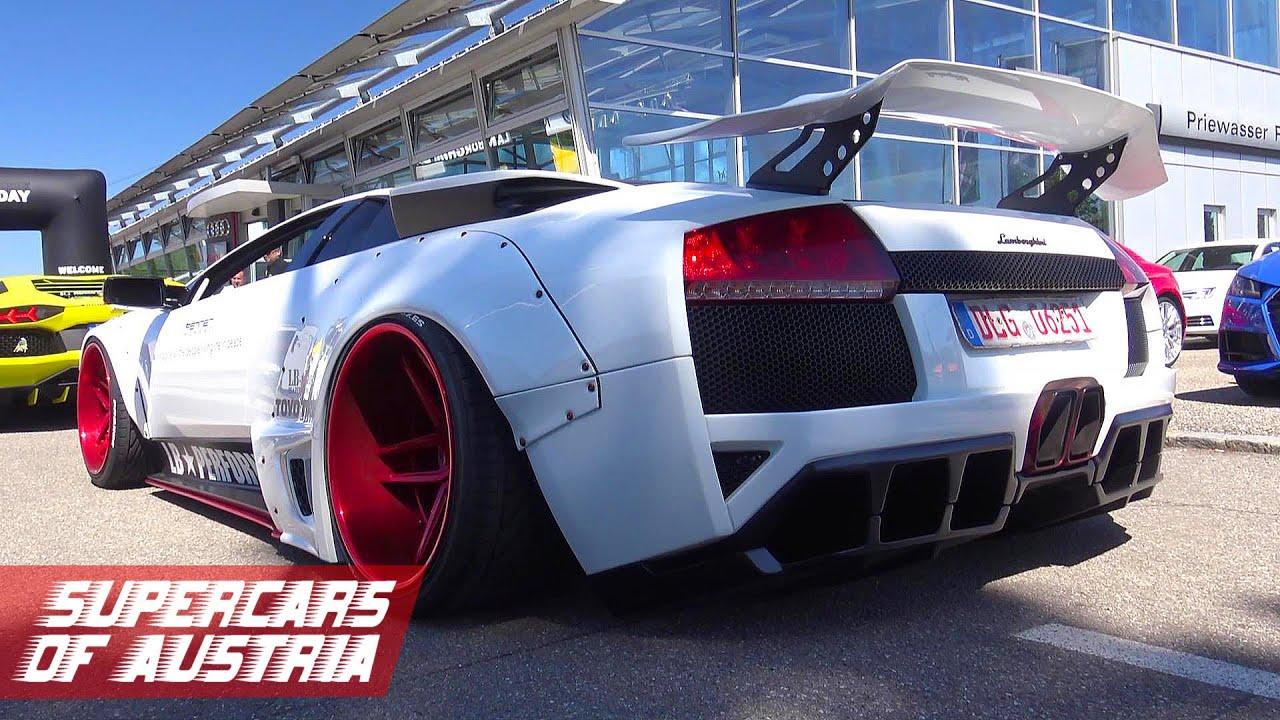 Liberty Walk Lamborghini Murcielago Lb R Sound Youtube