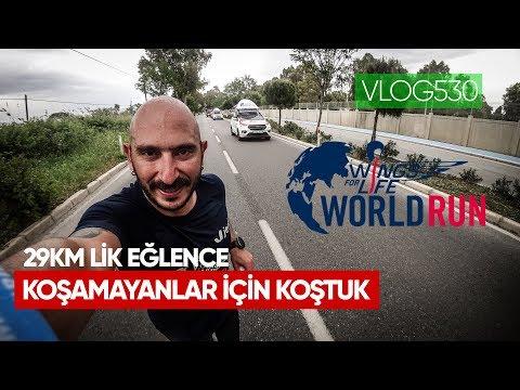 Wings For Life İzmir'de 29km Lik Eğlence 2019 - Koşamayanlar Için Koş | Asla Durma Vlog530