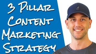 The 3 Pillar Content Marketing Strategy - How To Guarantee Your Marketing Success Through Content