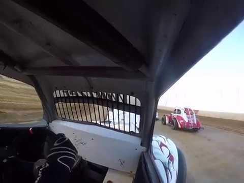 Trail-way speedway Legends car heat race