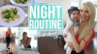 My Night Routine with a Baby!