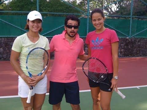 MysteryGuitarMan: Behind the Scenes with Ana Ivanovic & Li Na
