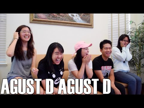 Agust D - Agust D (Reaction Video)