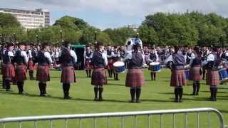 Field Marshal Montgomery Pipe Band - United Kingdom Championships 2015 - Medley