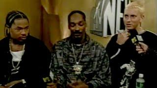 Eminem Entrevista con Snoop Dogg, Xzibit (Sub Español) MTV 1999