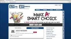 First National Bank of Texas Online Banking Login Instructions