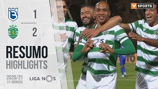 Highlights   Resumo: Belenenses 1-2 Sporting (Liga 20/21 #11)
