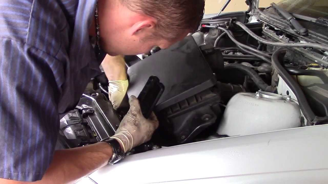Bmw E46 Expansion Tank Replacement Youtube