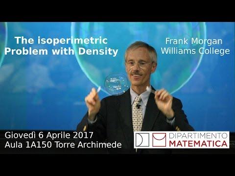 Frank Morgan, The Isoperimetric Problem with Density