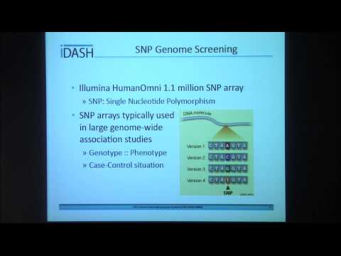 Daniel Browne - Genotype and Blood Glucose Dynamics of Type 1 Diabetes