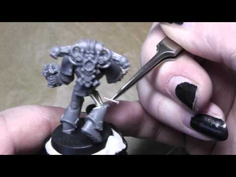 How to convert a Deathguard Chaos Space Marine