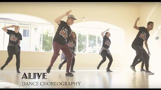 Repeat youtube video Alive / Vivo Estas- Hillsong Young & Free (Dance Choreography) - United Dance
