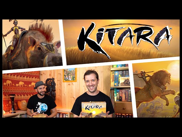 On explique et on joue à Kitara