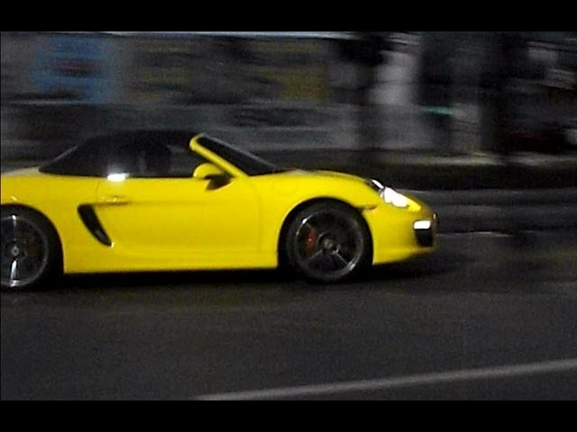 Porsche Boxster S: Feira de Santana/Bahia Travel Video