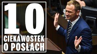 10 ciekawostek o posłach obecnej kadencji Sejmu RP.