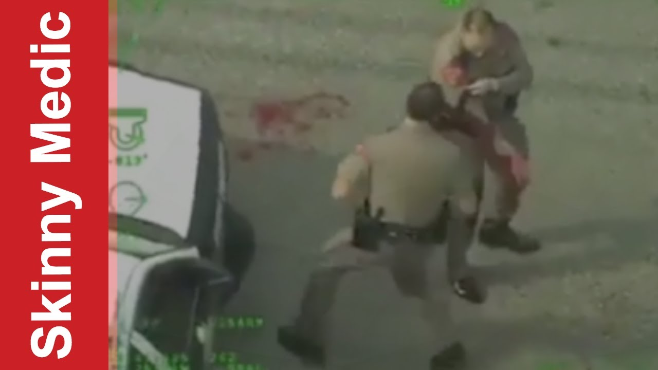 Trooper shot in the arm! After Action Medical Report