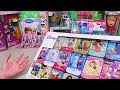 Frozen Sticker Book and Puzzles ! Toys and Dolls Family Fun Activities for Children