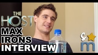Max Irons Talks Justin Bieber & Bubble Baths - 'The Host' Interview
