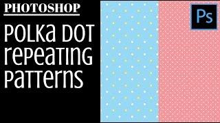 إنشاء البولكا نقطة أنماط فوتوشوب - جعل واحد واثنين لون نقطة أنماط بسرعة و بسهولة