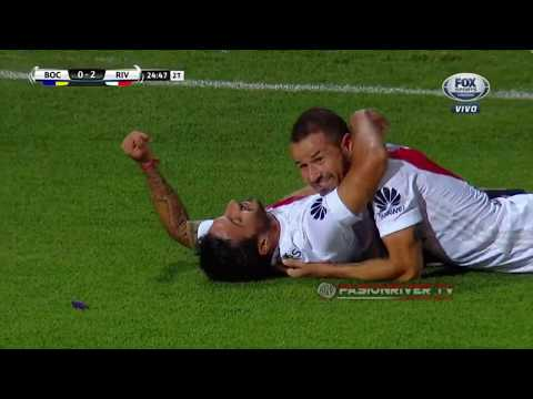 River Plate vs Boca Juniors (2-0) SUPERCOPA ARGENTINA 2018 - Goles HD