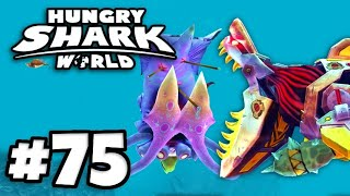 *NEW* Proto Robocalls XXL Shark vs SQUID BOSS! | Hungry Shark World Part 75