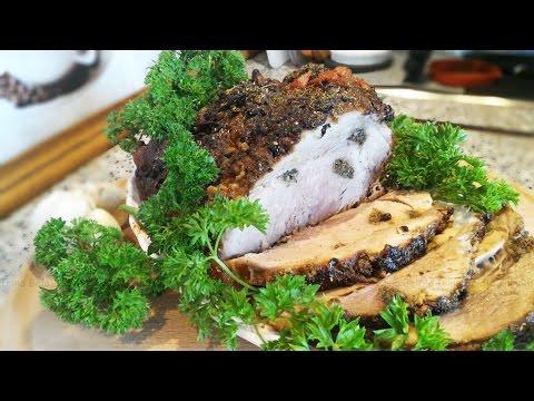 Рецепт: Запеченная свинина в рукаве на