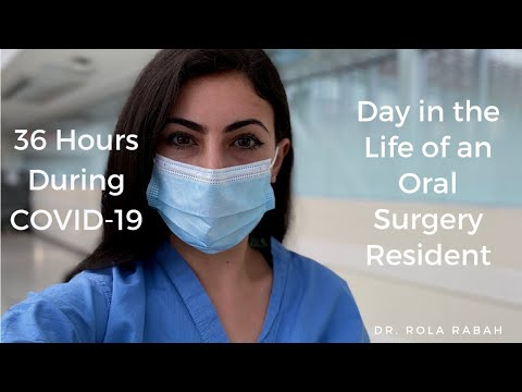 36 Hour Call During COVID | VLOG: Day In The Life Of An Oral & Maxillofacial Surgery Resident