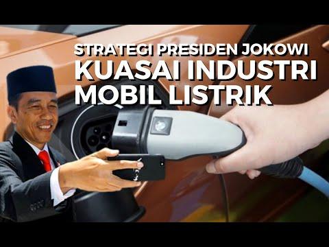 Berhasrat Kuasai Industri Mobil Listrik, Ini Strategi Presiden Joko Widodo