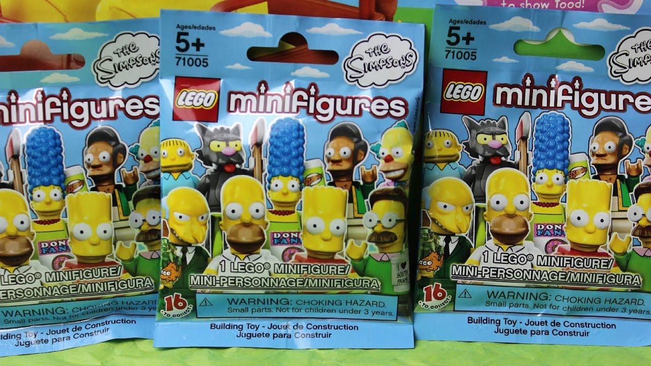 Los Simpsons Lego Mini Figuras Blind Bags Lego Bolsitas