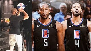 Drake Gets Ready To Replace Kawhi Leonard On The Raptors After Joining Clippers (Parody)