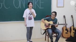[AGC ON FIRE 3] - Ngại ngùng- Dương Quỳnh ft. guitarist Đức Trung