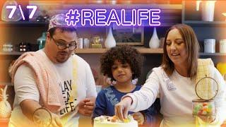 אוראל צברי וטלי אורן מתחברים לחיים האמיתיים | #REALIFE