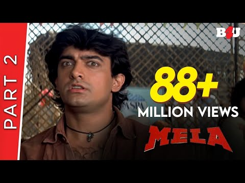 Mela | Part 2 | Aamir Khan, Twinkle Khanna | B4U Mini Theatre