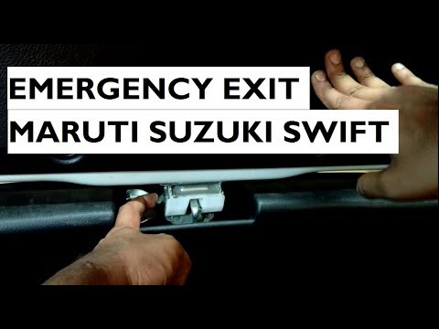 Emergency Exit In Maruti Suzuki Swift