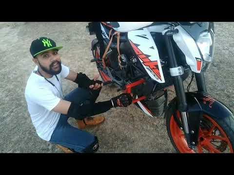 Modifications in KTM DUKE 200| Tourer Modifications| KTM DUKE 200