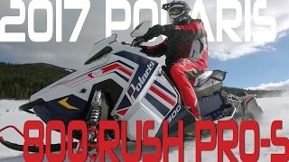 STV 2017 Polaris 800 Rush PRO-S