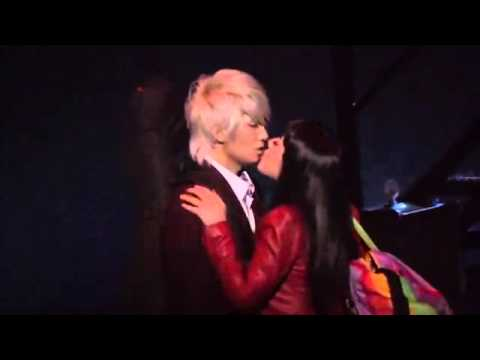 tiffany snsd kiss with Jungmo trax