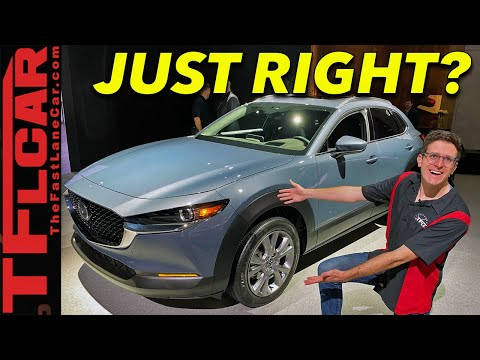 The 2020 Mazda CX-30 Is The Brand's Newest Premium Compact SUV!